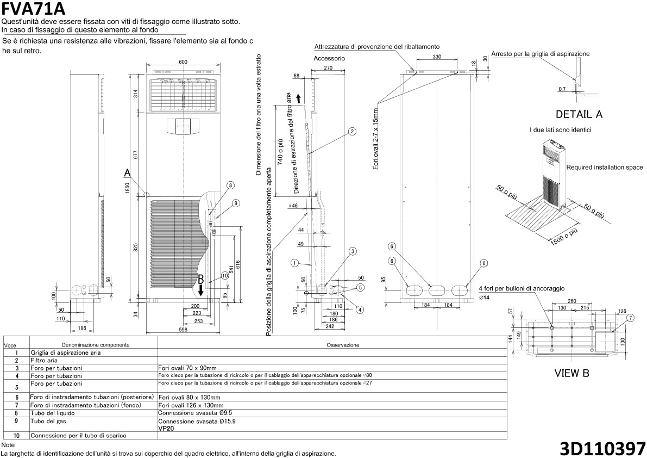 Schema Elettrico Daikin : Compressore climatizzatore daikin