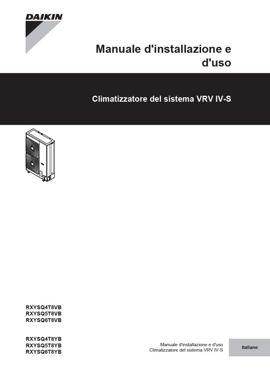 daikin vrv 4 installation manual